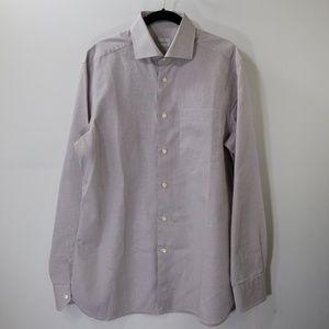 Ermenegildo Zegna Multicolor Checked Dress Shirt M